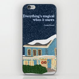 Gilmore girls house iPhone Skin
