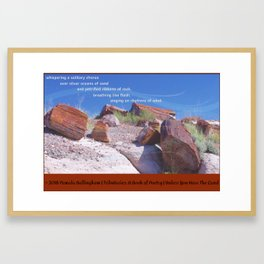 Unless You Hear The Land   Pamala Ballingham Framed Art Print