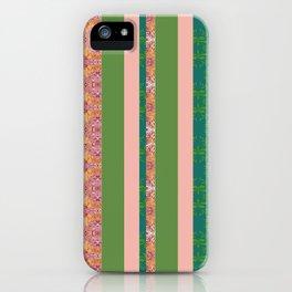 zakiaz bohemian stripe iPhone Case