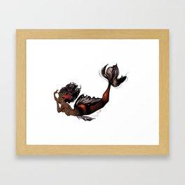 KoiMaid Queen Framed Art Print