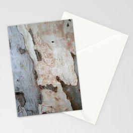 Bark Of A Eucalyptus Tree Stationery Cards