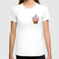 cupcake T-shirts featuring Cupcake by AnnaCas
