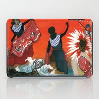 mythology iPad Cases featuring Inuit Mythology: Chapter 1, part 4 by Estúdio Marte