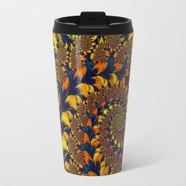 Autumn Leaf Maelstrom Travel Mug