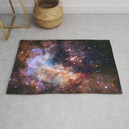 NASA Galaxy Photography Duvet Cover Rug