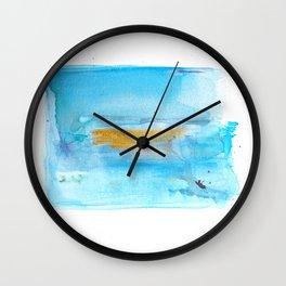 Banish Wild Beasts Wall Clock