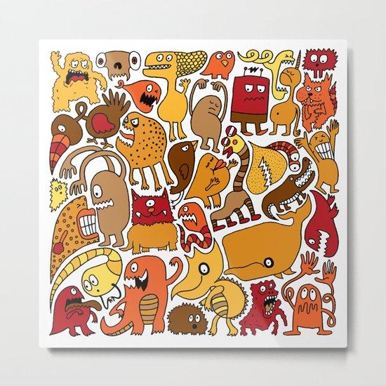 Creatures! Metal Print