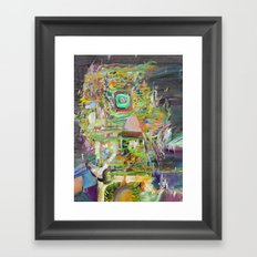 A SMALL PORTION OF HERSELF Framed Art Print