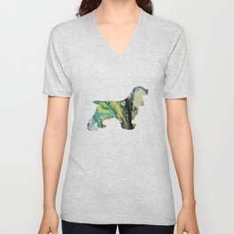 Cocker Spaniel Unisex V-Neck