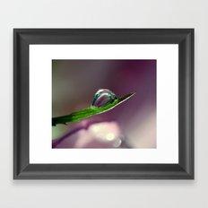 Spoonful of light Framed Art Print