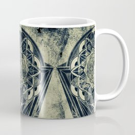 Sacred Geometry for your daily life -  Galactic OHM Coffee Mug