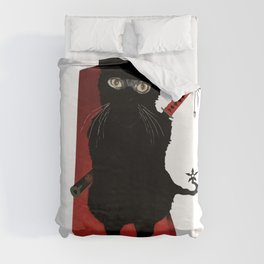 Ninja Cat Duvet Cover