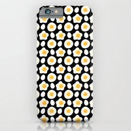 Fried Egg Pattern Breakfast Lovers Daisy Flower iPhone Case