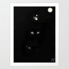 Dark Maria Art Print