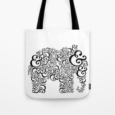 Ampersand Elephant Tote Bag