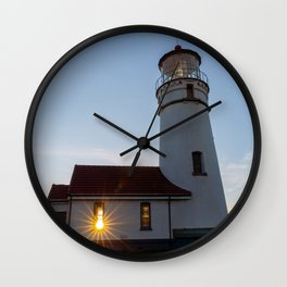 A Beacon of Light Wall Clock