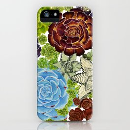 """The Monroe"" Watercolor Succulent, Botanical watercolor, iPhone Case"