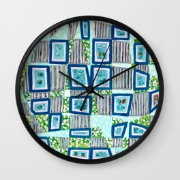 27 Pictures Wall Clock