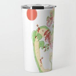 Dragon Battle Travel Mug