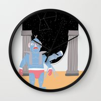 constellation Wall Clocks featuring Constellation by Elena Éper