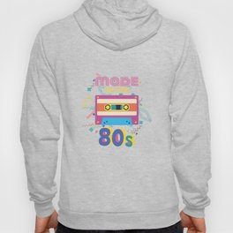 Made In The 80s Cassette Tapes Retro Birthday Hoody