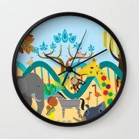 evolution Wall Clocks featuring Evolution by Design4u Studio