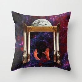 gateway to love Throw Pillow