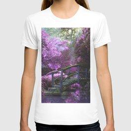 Monet's Garden (Color) T-shirt