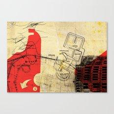 overflow #21 Canvas Print