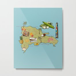 Mi País ~ Metal Print