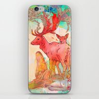 archan nair iPhone & iPod Skins featuring Rebirth by Archan Nair