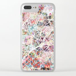 Limoges map Clear iPhone Case