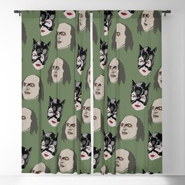 Catwoman and Penguin Blackout Curtain