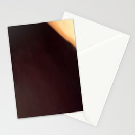 Abstract Burgundy Shades with Beige Corner.   Like painted on canvas. Stationery Cards