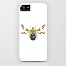 Mechanical Insect ( Steampunk ) iPhone Case