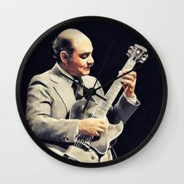 Joe Pass, Music Legend Wall Clock
