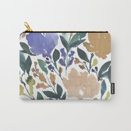 hand painted flowers_2b Carry-All Pouch