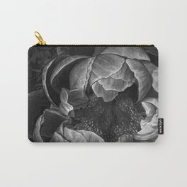 Moody Peony Carry-All Pouch
