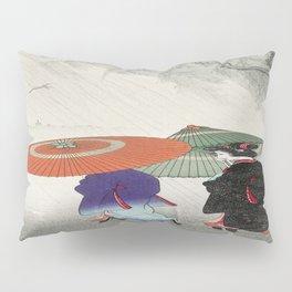 Rainy Day Geisha Pillow Sham