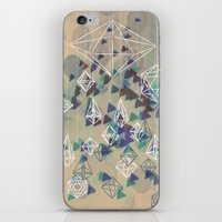 crystals iPhone & iPod Skins featuring crystals by Sil-la Lopez
