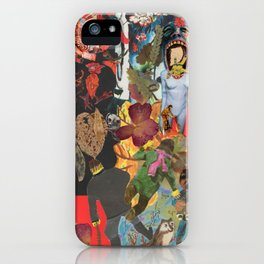 Red hens and many others and more..... iPhone Case