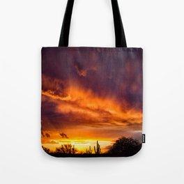 Arizona Sunset 042 Tote Bag