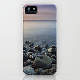 Volcanic ocean at sunrise. Santiago Beach. La Gomera Island iPhone Case