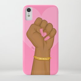 Black Lives Matter Power Fist iPhone Case