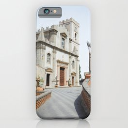Sicilian church | Italy travel photography architecture art print godfather iPhone Case