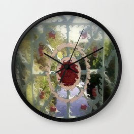 Crowning Glory Wall Clock