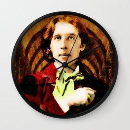 Oscar Wilde 1854-1900 Wall Clock