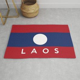 flag of laos Rug