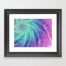 Whirlpool Diamond Computer Art Framed Art Print