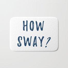 How Sway Bath Mat